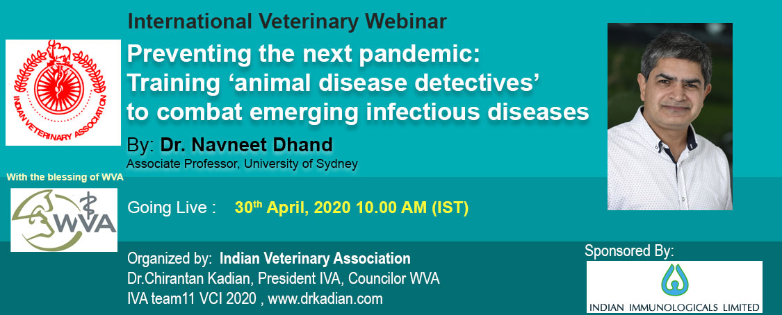 Preventing the next pandemic: Training 'animal disease detectives' to combat emerging infectious diseases