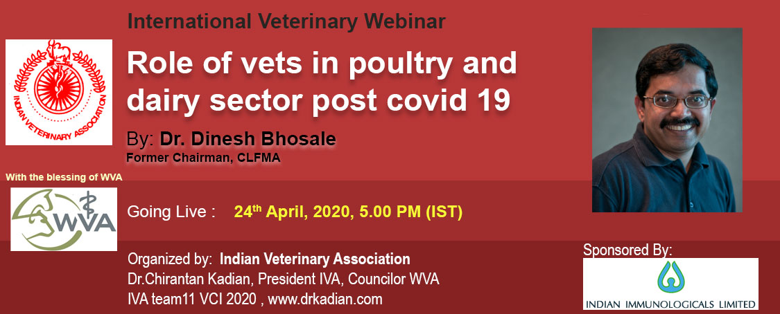 Role of vets in poultry and dairy sector post covid 19