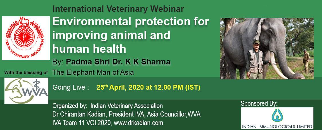 Environmental protection for improving animal and human health