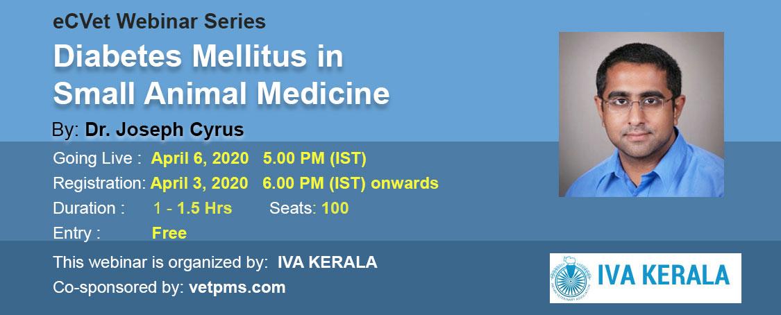 Diabetes Mellitus in Small Animal Medicine
